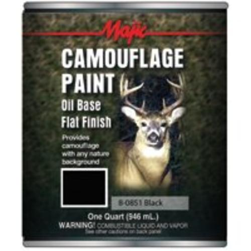 Majestic 8-0851-2 Black Camo Paint, Qaurt