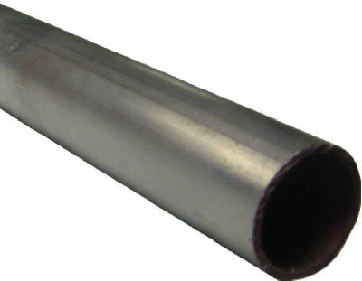 "SteelWorks 11397 Round Aluminum Tube, 3/4"" x 36"", Mill Finish"