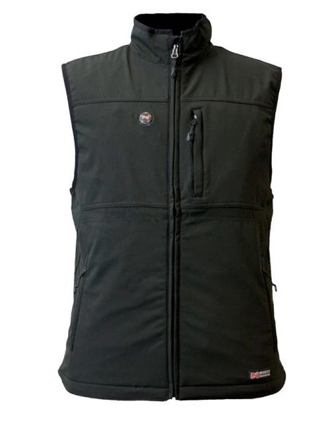 Mobile Warming MWJ13M01-XL-BLK Men Heated Vests, Black, Men