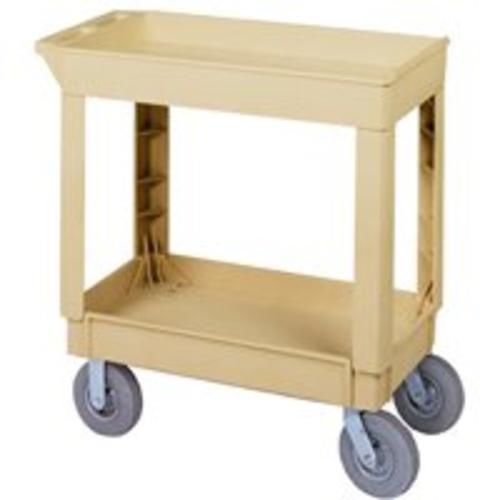 Continental Commercial N5805BE Pneumatic Utility Cart, Beige