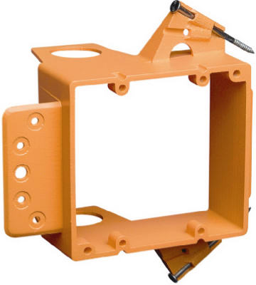 "Carlon SC200A Low Voltage New Work Box Bracket, 5.35"" x 3.81"" x 3.3"""