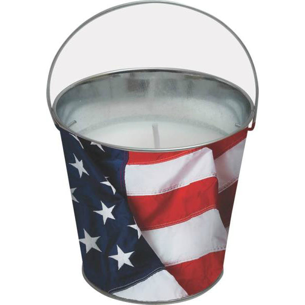 Worldwide Sourcing Y2563 Stars & Stripes Citronella Candle, 5""