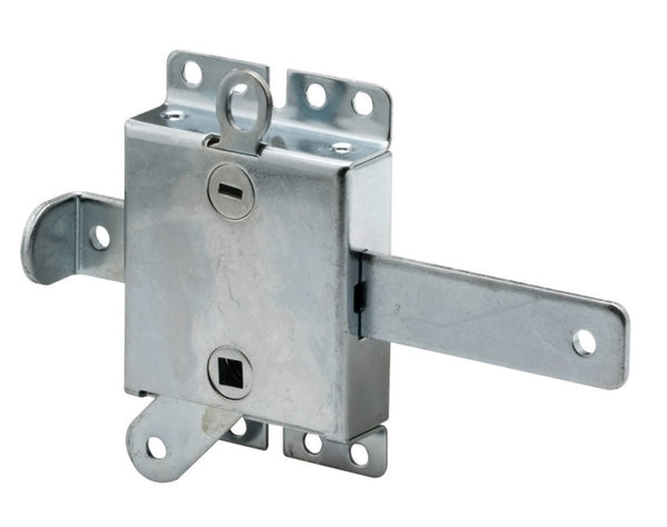 Prime Line GD52138 Garage Door Slide Lock, Galvanized steel
