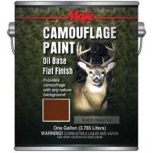 Majic 8-0855-1 Camouflage Paint - Gallon, Desert Tan