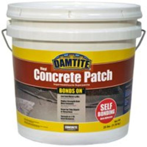 Damtite 04025 Bonds-On Vinyl Concrete Patch, 25 Lb