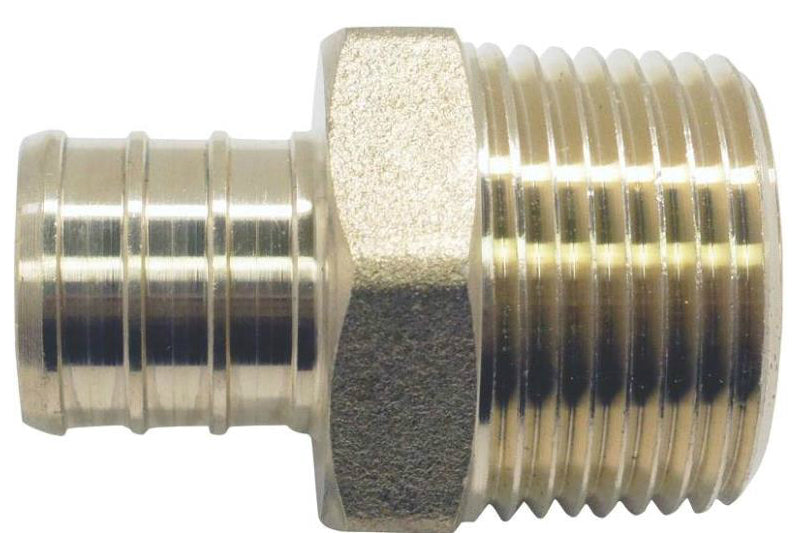 "Apollo Valves APXMA3434 Brass PEX Male Adapter Crimp Fitting, 3/4"" Dia"