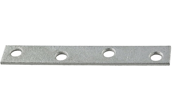 "National Hardware N114-413 118BC Mending Brace, 4"" x 5/8"", Galvanized"