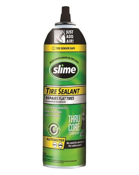 Slime 60174 Thru-Core Tire Sealants, 16 Oz
