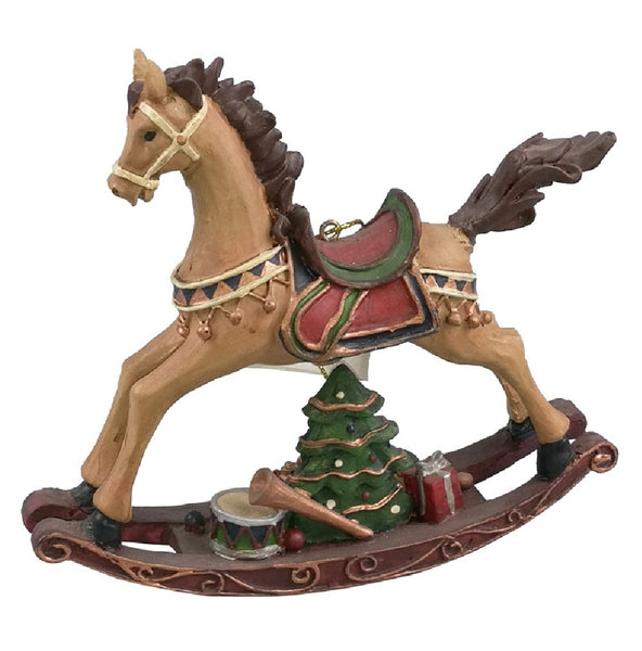 Santas forest 89417 Christmas Ornaments Rocking Horse