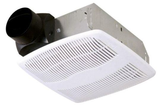 Air King AS70 Advantage Exhaust Bath Fan, 70 CFM, 4.0 Sones, White