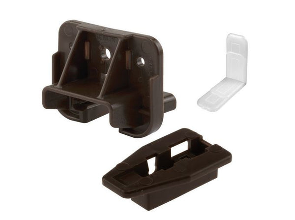 Prime Line R 7321 Drawer Track Guides and Glides, 1-7/8""