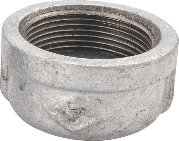 Worldwide Sourcing 18-1/2G Galvanized Malleable Pipe Cap, 1/2""