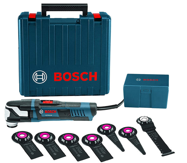 Bosch GOP55-36C1 Oscillating Multi Tool Kit, 8 pc