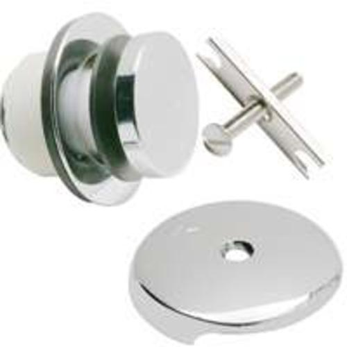 Plumb Pak PP826-66PC Trim Kit For Foot Lok Stop, Polished Chrome