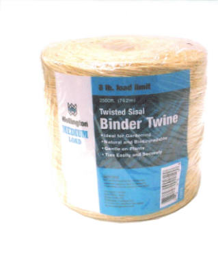 Wellington 43915 1-Ply Natural Sisal Twine, 2500'