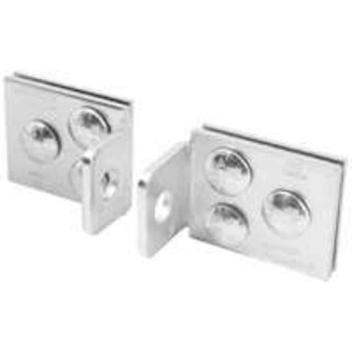 Master Lock A535D Heavy-Duty Centered Hole Hasps, 5""