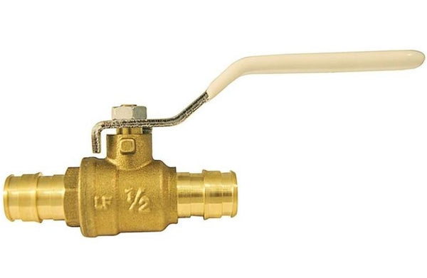 Apollo EPXV12 Expansion Pex Ball Valve, Brass, 1/2""