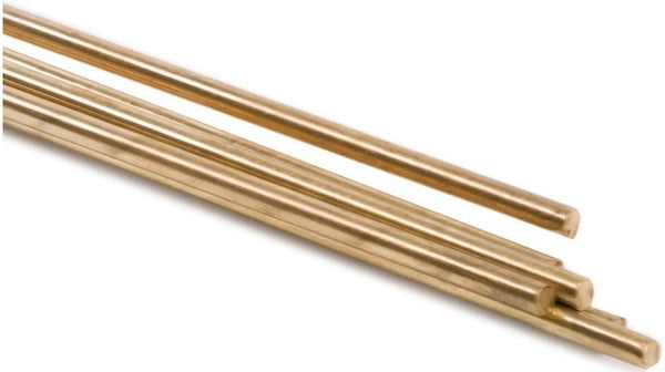 "Forney 48302 Low Fuming Bronze Brazing Rods, 3/32"" x 36"""