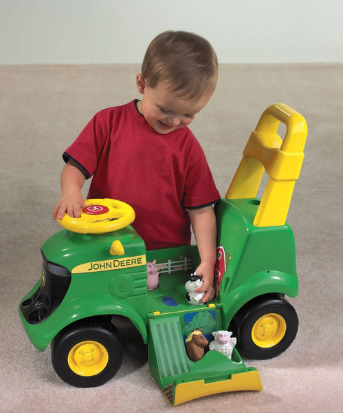 John Deere 35206 Sit And Scoot Activity Toy Tractor
