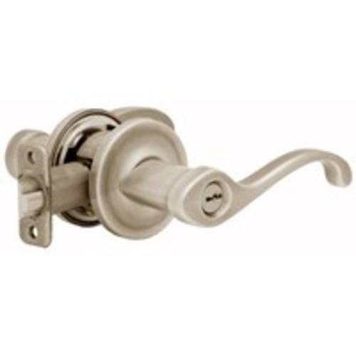 Kwikset 740CHL15 SMT RCAL Smt Entry Lever Locksets, Satin Nickel