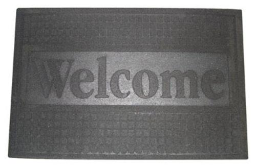 "Dennis FUWBL1830 Functional Welcome Entry Mat, 18""x30"""