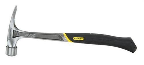 Stanley 51-177 FatMax Xtreme AntiVibe Rip Claw Hammer, 22 Oz