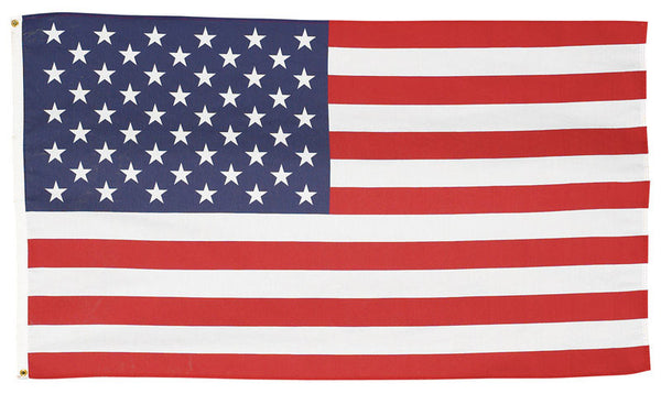 Valley Forge USS-1 Starlite Polycotton U.S. Flag, 3' x 5'