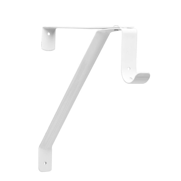 John Sterling RP-0043-WT Adjustable Shelf And Rod Bracket, White