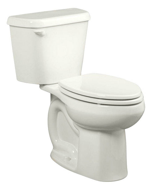 American Standard 751CA101.020 Colony Elongated Complete Toilet, 1.28 Gal, White