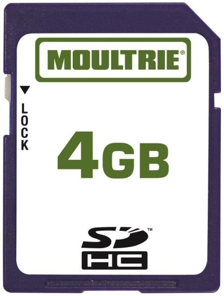 Moultrie MFH-SD4GB SD Memory Card, 4GB