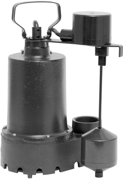 Superior Pump 92541 Sump Pump, 1/2 Hp, Cast Iron