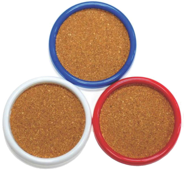 Chef Craft 21069 Cork Coaster, 4 Piece
