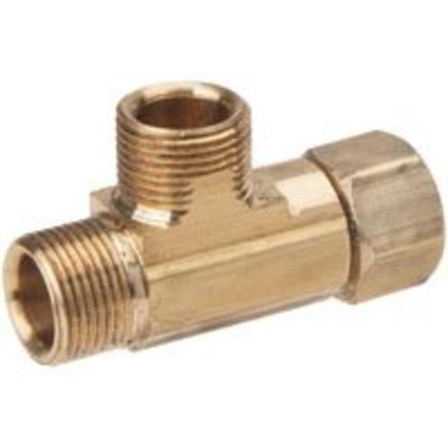 "Brass Craft CT2-666XP Compression Tee Fitting, 3/8""x3/8""x1/4"""