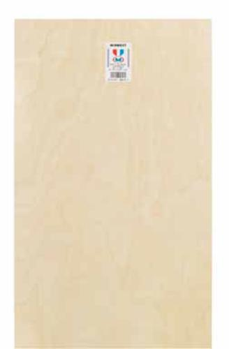 "Midwest Products 5316 Plywood Sheet, 1/4"" x 12"" x 24"""