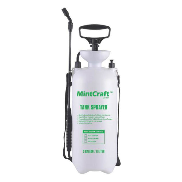 Mintcraft SX-8B Poly Compression Tank Sprayer, 2 Gallon
