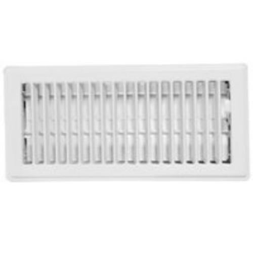 "Imperial RG0223 Floor Register 3""x10"", White"