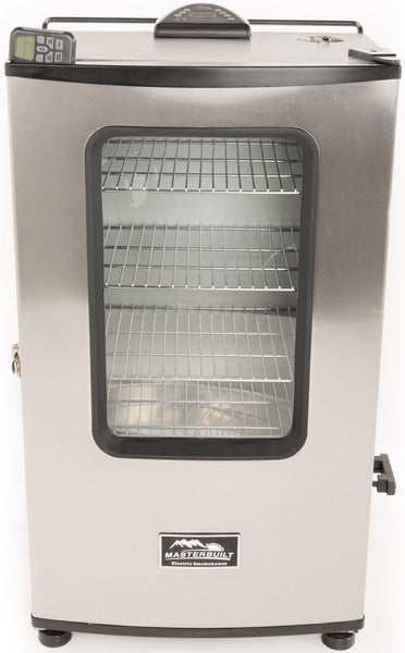 "Masterbuilt 20070311 Digital Electric Smoker, Stainless Steel, 40"", 1200W"