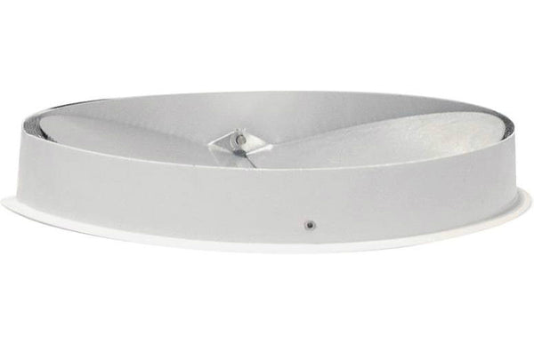 Air King ARD7R Steel Round Collar with Aluminum Back Draft Damper, 7""