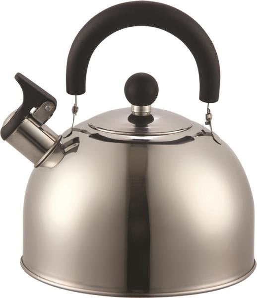 Dura-Kleen 309-SS Euro-Home™ Whistling Tea Kettle, 2.5 Qt, Stainless Steel