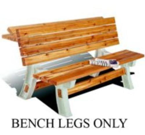 2X4 Basics 90110/05310 Flip Top Bench Table Legs, Sand