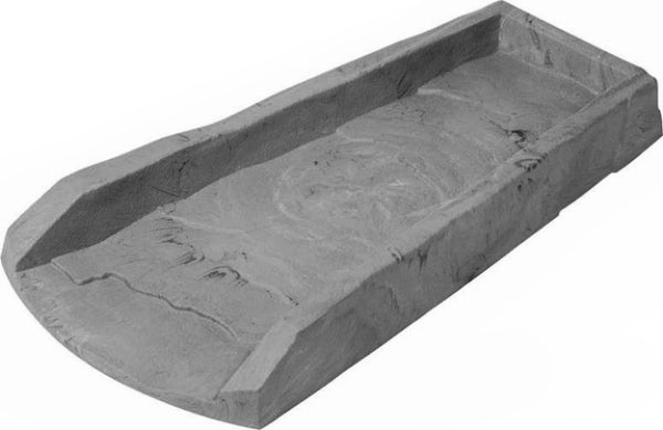 "Amerimax 3004-12 Splash Block, 24"" x 12"" x 2"", Slate Gray"