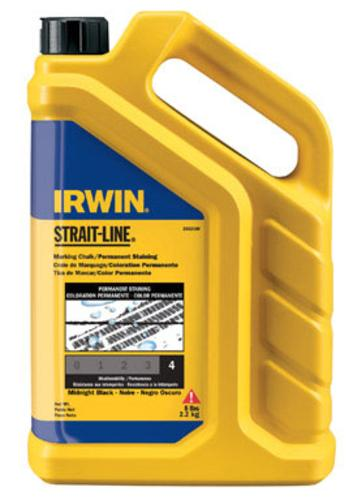 Strait-Line 4935526 Permanent Staining Marking Chalk, Black, 5 Lbs