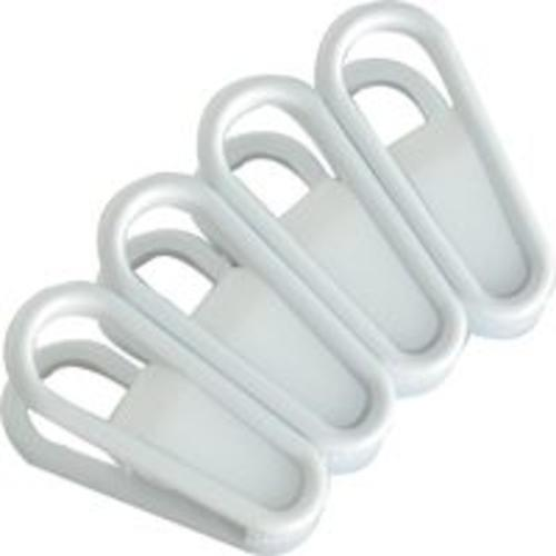 Merrick Engineering C8944A-CL24 Universal Hanger Grip Clip, White