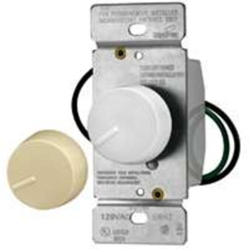 Cooper Wiring RI061-VW-K2 Non-Preset Rotary Dimmer