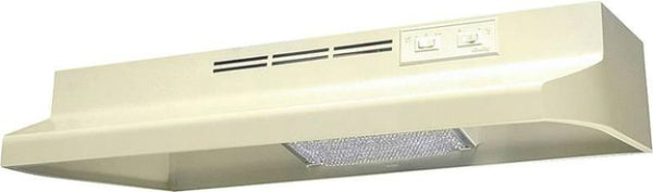 "Air King AD1305 Range Hood, 30"", Almond, 180 CFM"