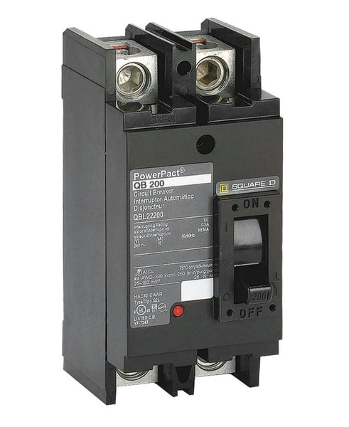 Square D Qbl22200 Main Circuit Breaker 200 Amp