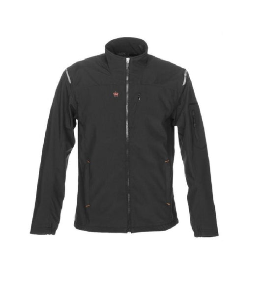Mobile Warming MWJ16M07-XL-BLK Men's Alpine Jacket, Black, X-Large