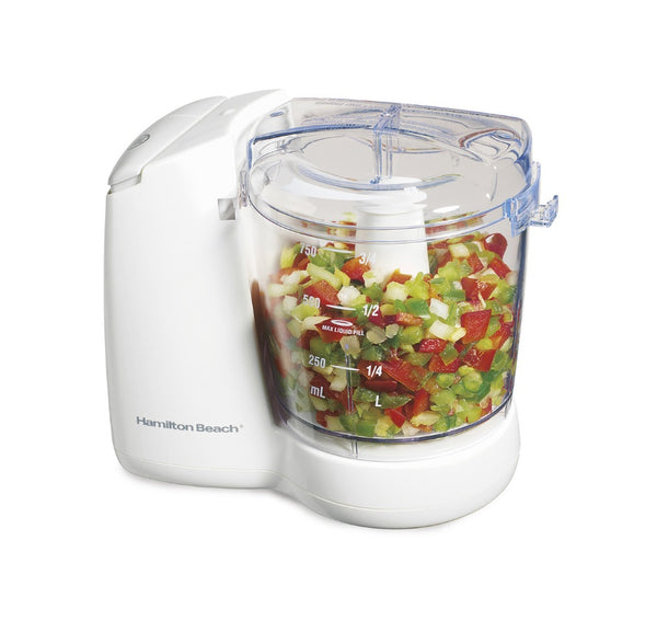 Hamilton Beach 72600 Food Chopper, 3 Cup Capacity