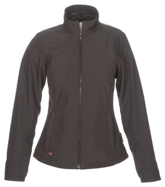 Mobile Warming MWJ16W03-LG-BLK Women Heated Jackets, Black, Large