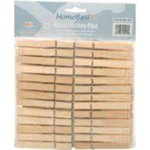 Mintcraft HEA00050C-S3L Wood Clothes Pin, 50 Piece